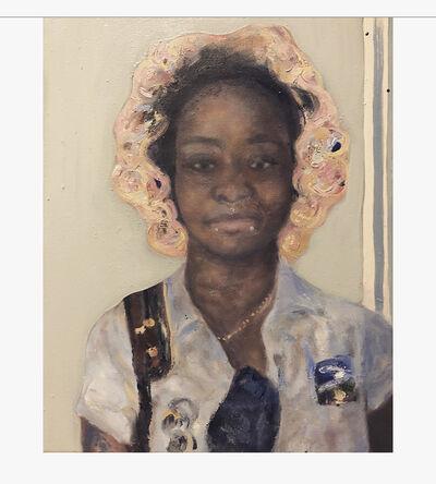 portabledisko007, 'Portrait of My Mail Lady', 2019