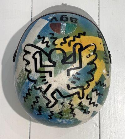 Keith Haring, 'Untitled ('Angel Helmet')', 1983