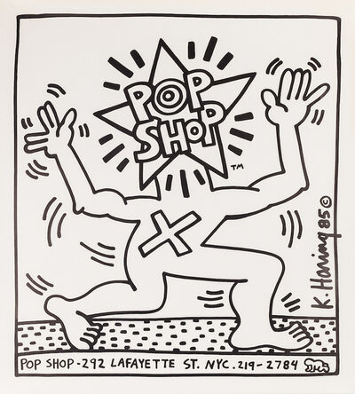Keith Haring, 'Pop Shop Poster (NYC)', ca. 1986