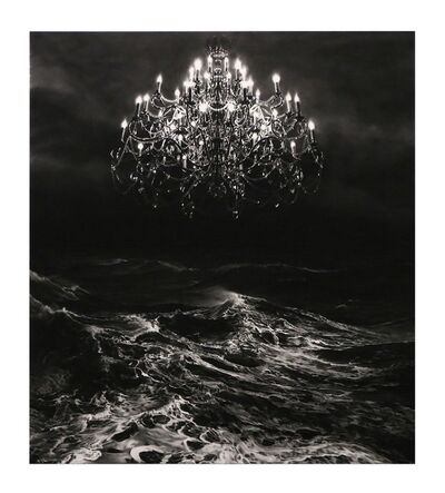 Robert Longo, 'Untitled (Throne Room from Charcoal)', 2017