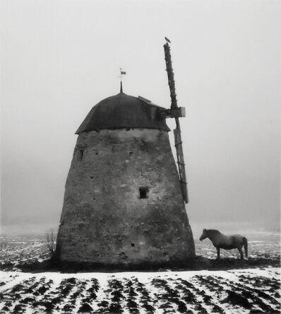 Pentti Sammallahti, 'Untitled [Horse & Windmill]', 1982