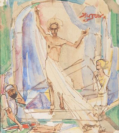 Jan Toorop, 'The Ressurection of Jesus', 1926