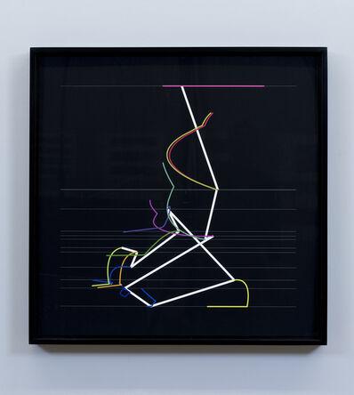 Manfred Mohr, 'P2200_4570', 2014-2015