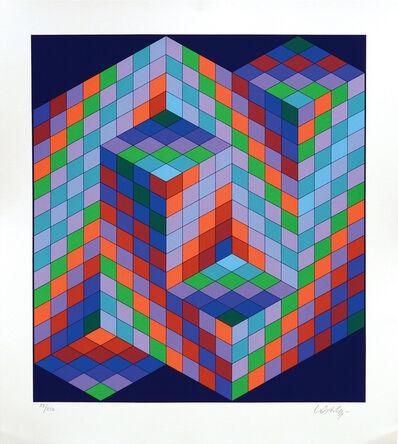 Victor Vasarely, 'Vaar', 1988