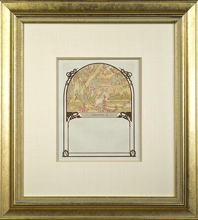 "Alphonse Mucha, 'From Ilsee, Princess of Tripoli Recto: ""Ilsee's Palace"" Verso: ""The Princess's Creation""', 1897"