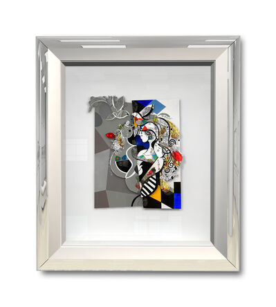 Yoël Benharrouche, 'Fil conducteur invisible (Papercut)', 2017