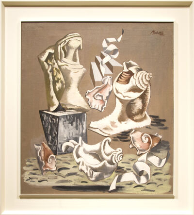 Jan Matulka, 'Broken Shells and Torso', 1936
