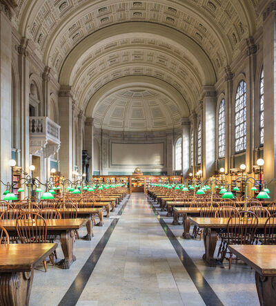 Reinhard Gorner, 'Boston Public Library', 2017