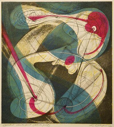Letterio Calapai, 'Celestial Counterpoint', 1948-49