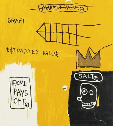 Jean-Michel Basquiat, 'Rome Pays Off', 1984