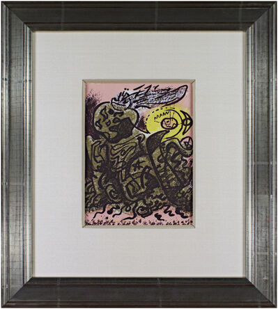 André Masson, 'Caliban', 1975