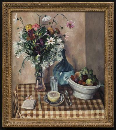 Bror Julius Olsson Nordfeldt, 'Still Life with Grapefruit', ca. 1930