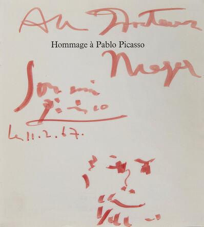 Pablo Picasso, 'Hommage à Pablo Picasso', 1967