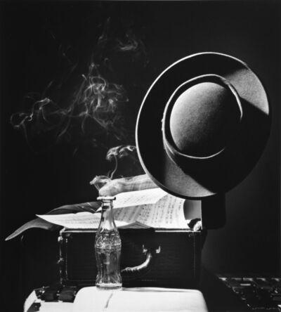 Herman Leonard, ''Prez' Lester Young, NYC', 1948