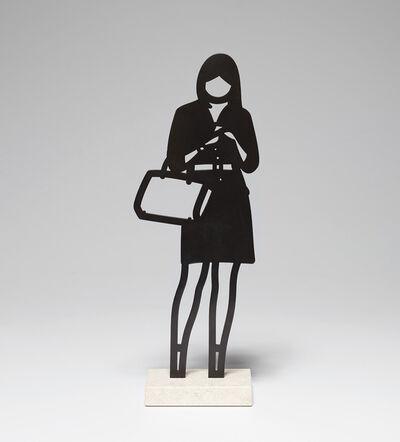 Julian Opie, 'Handbag, from Melbourne Statuettes', 2018