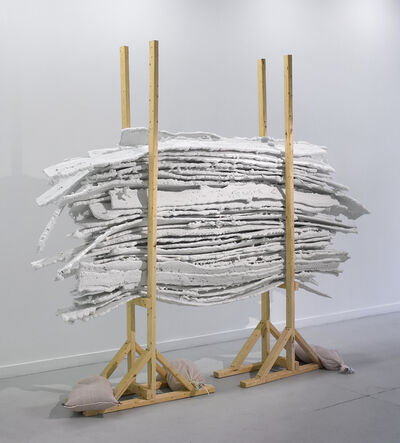 Jill Downen, 'Architectural Cartilage on Rack', 2011