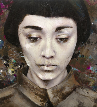 Lita Cabellut, 'Dried tear 04', 2013