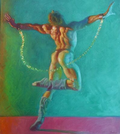 John Asaro, 'Spartacus - Beauty in Chains', 2020