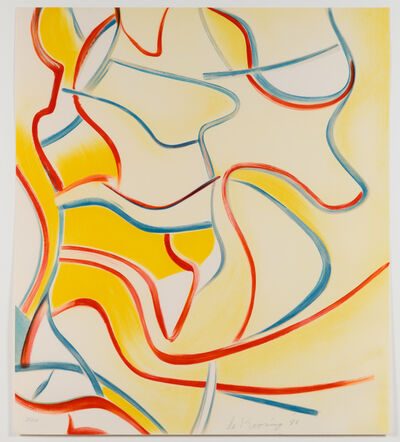 Willem de Kooning, 'Untitled, from Quatre Lithographies', 1986