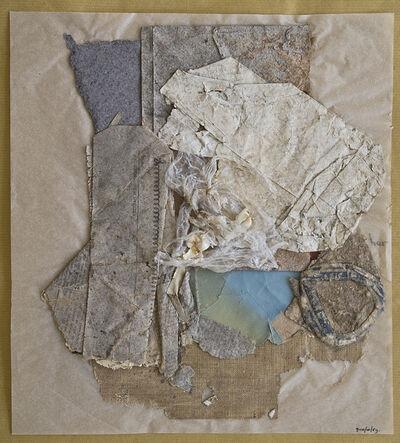 herman de vries, 'collage trouvé: 9-10/10/59', 1959