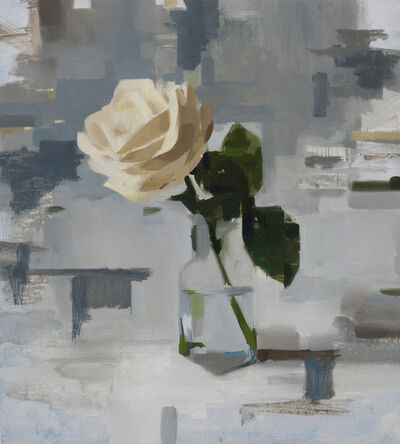 Jon Doran, 'White Rose in the Afternoon', 2019