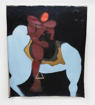 Curtis Talwst Santiago, 'Red Face Ancestor on Burrokeet', 2020