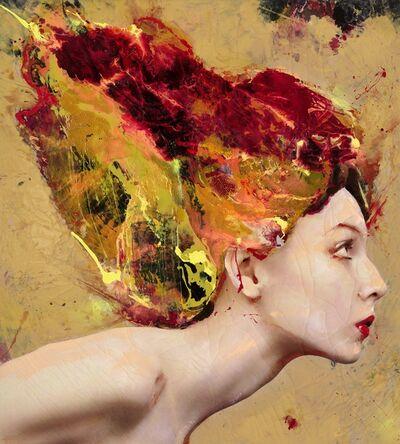 Lita Cabellut, 'Fairy Flower 04', 2016