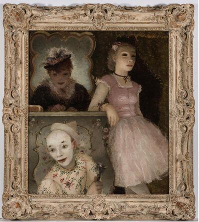 Dietz Edzard, 'Ballerina, Clown and Festival Performers Like Degas', 1935
