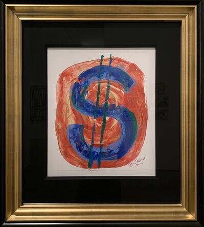 Ronnie Wood, 'Dollar Sign', 2012