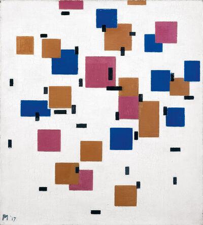 Piet Mondrian, 'Composition in colour A', 1917