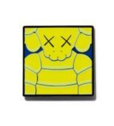 KAWS, 'Brooklyn Museum - WHAT PARTY Print Pin, 2021', 2021