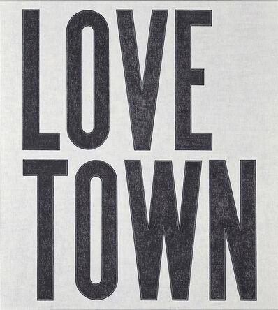 David Austen, 'Love Town', 2017