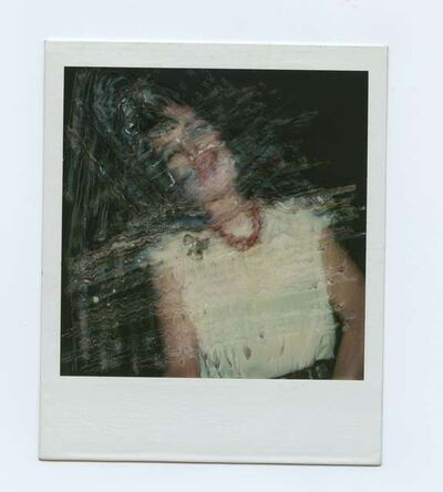 Maripol, 'ERASED WENDY SX 70'S', 1981