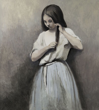 Claerwen James, 'Girl from the Corot painting 2', 2015