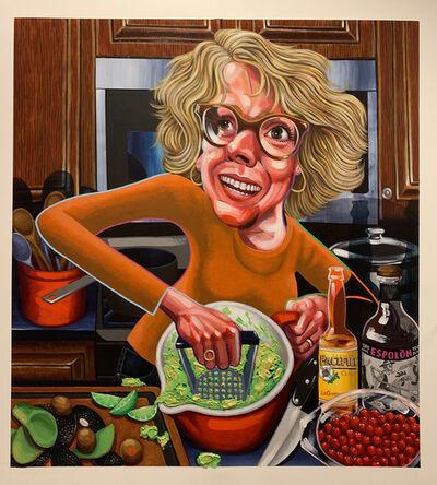 Tom Sanford, 'Patty Making Guacamole', 2019