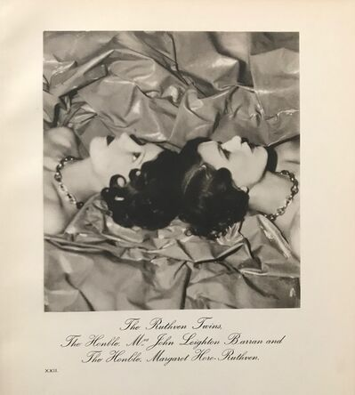 Cecil Beaton, 'The Ruthven Twins', 1930-1940
