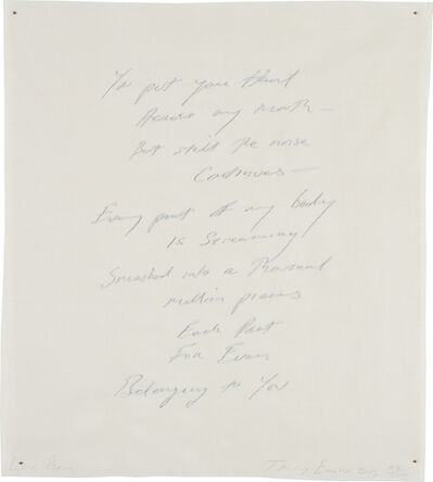 Tracey Emin, 'Love Poem', 2013