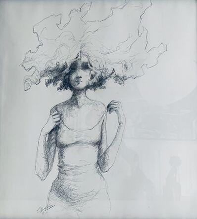 Valérie Hadida, 'Carré de femme', 2019