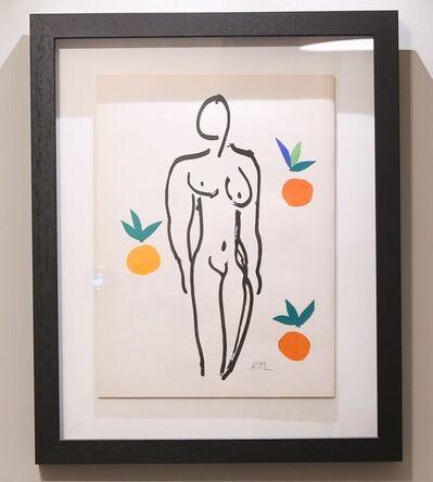 Henri Matisse, ' Nu aux Oranges (Nude with Oranges)', 1958