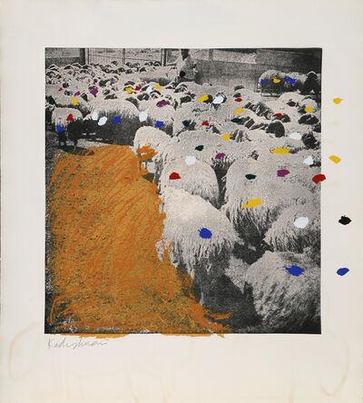 Menashe Kadishman, 'SHEEP Portfolio, ', 1981