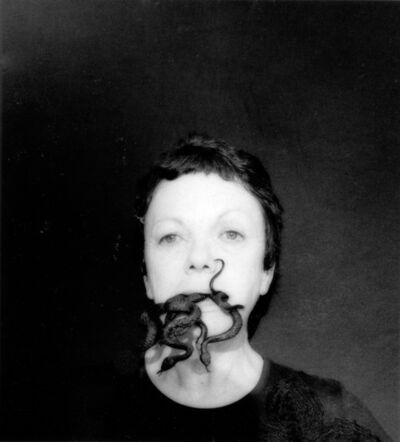Graciela Iturbide, 'Autorretrato con serpientes, Oaxaca', 2006