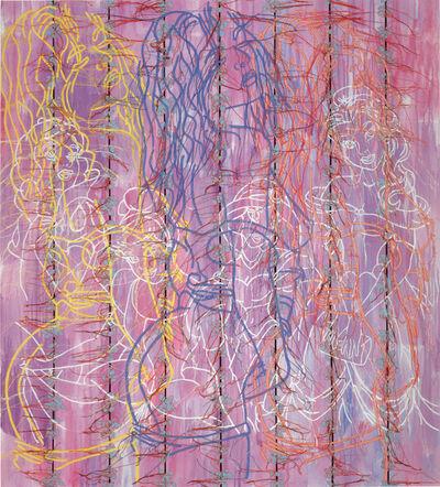Ghada Amer, 'Princesses', 2005