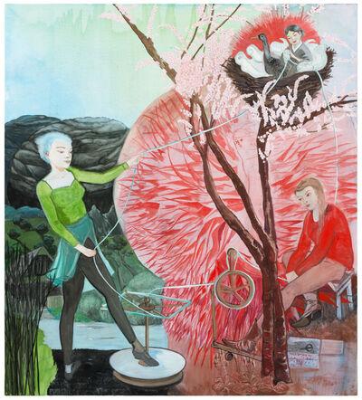 Rosa Loy, 'Drei Parzen', 2016