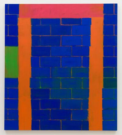 John Finneran, 'Blue Bricks, Boyle Heights Ave', 2019