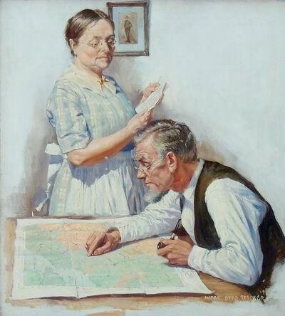 Anton Otto Fischer, ' Every Week Magazine Cover', 1918
