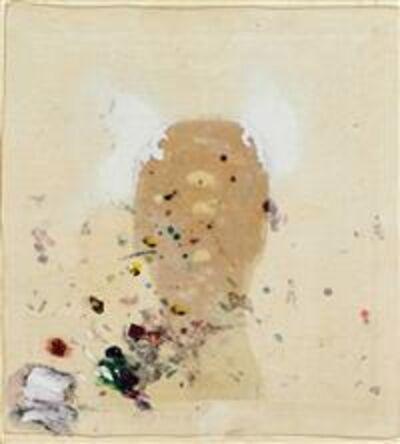 Gerhard Hoehme, 'Mediator 6. Hinter der Erregung vor sich selbst', 1974