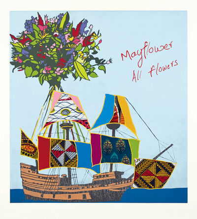 Yinka Shonibare CBE, 'Mayflower, All Flowers', 2020