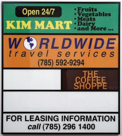 Ken Lum, 'Kim Mart', 2009