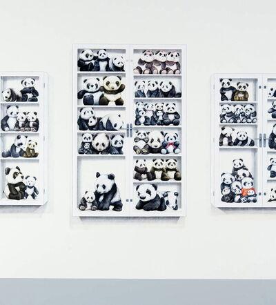 Su-en Wong, 'DH-7 Pandas in Dispay Case', 2009