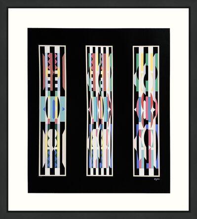 Yaacov Agam, 'UNTITLED (BLACK)', ca. 1990